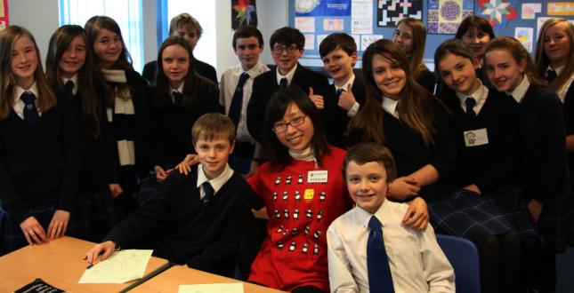 China Day at Dollar Academy 2013