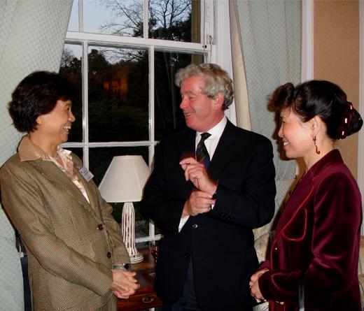 Hanban Director and Delegation visit to Confucius Institute for Scotland